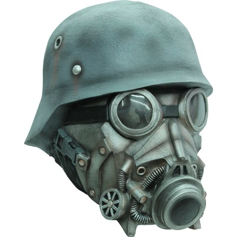 Chemical warfare deluxe mask