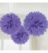 Lila pompoms 3-pack