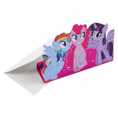 Nya My Little Pony Inbjudningskort