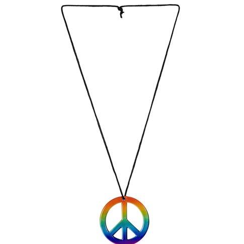 stort peace halsband