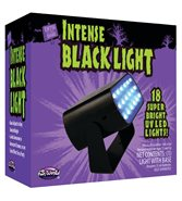 Intense UV-Blacklight Ledlampa