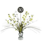 50-Års Bordsdekoration