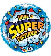Have A Super Birthday Heliumballong