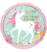Happy Birthday Heliumballong Unicorn