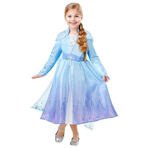 Frost Elsa Klänning Deluxe Barn
