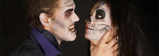 Halloween Sminkning Joker.Halloween Smink For Skrackinjagande Sminkning